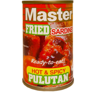 Master Fried Sardines Hot and Spicy product image